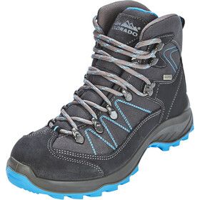 High Colorado Ultra Hike Mid High Tex Chaussures de randonnée Femme, anthracite/blue